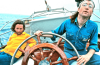 John Lennon Sailing Newport RI