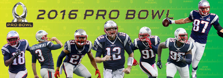Patriots Pro Bowl