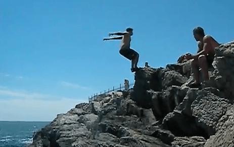 cliff dive newport ri