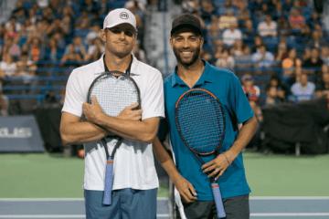 Andy Roddick james Black Newport RI Tennis Hall of Fame