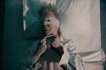 David Bowie Lazarus Hospital Bed