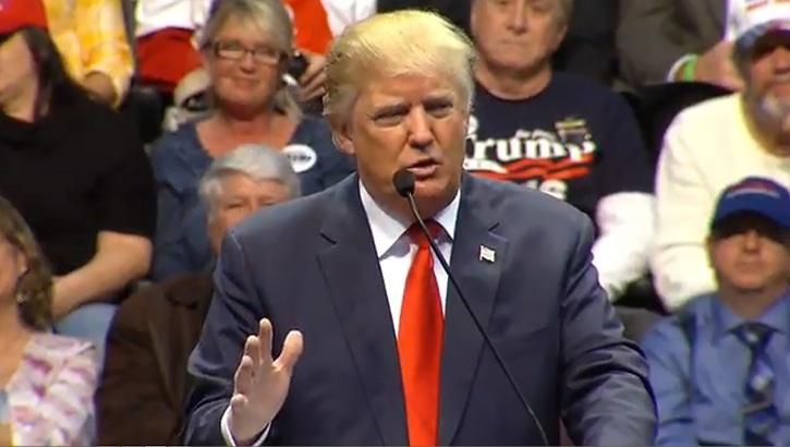 trump stupid microphone