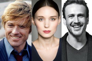 Robert Redford Rooney Mara Jason Segel Newport RI The Discovery
