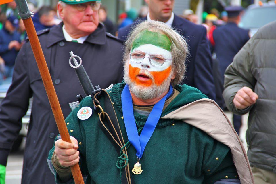 Newport RI St. Patrick's Day Parade