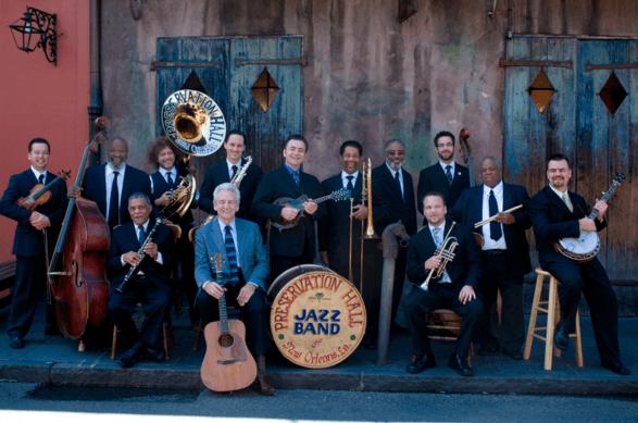 Preservation Jazz Hall Band Newport Folk 2016