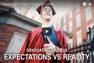 expectations vs. reality graduating college the wonderful show