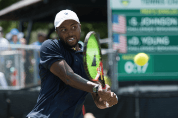 Donald Young Newport RI Tennis