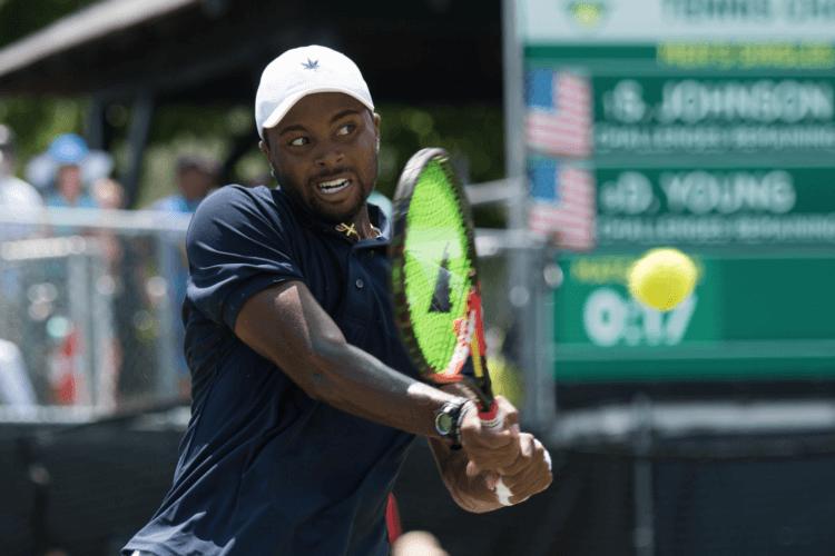 Donald Young Newport RI Tennis
