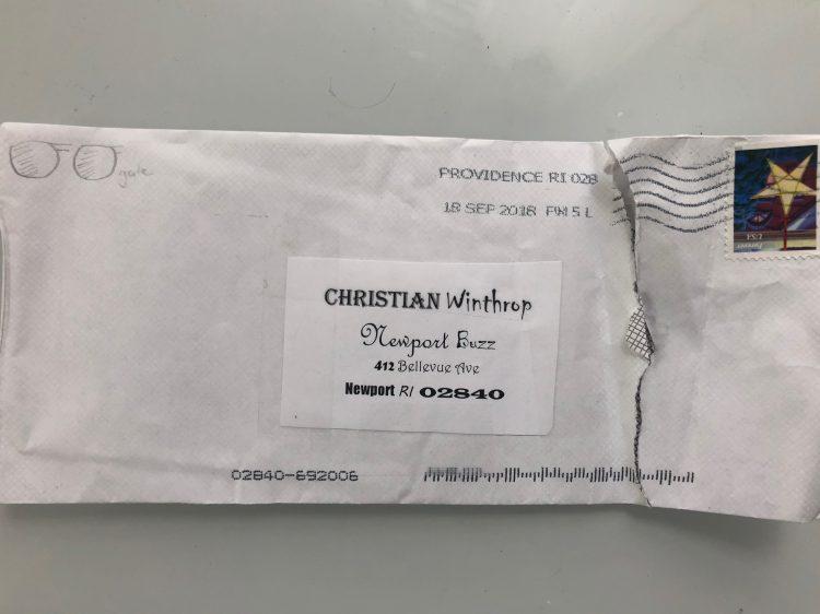 Gogglegate ransom letter