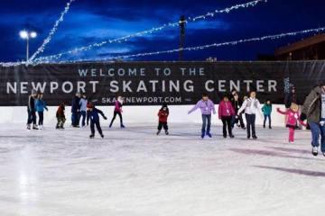Gurneys Ice Skating Newport RI