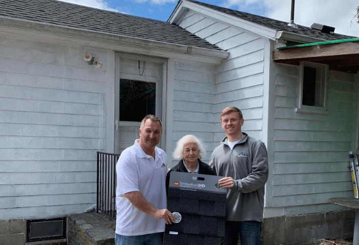 A1 Roofing & Construction Builds Free Roof for Widowed Middletown