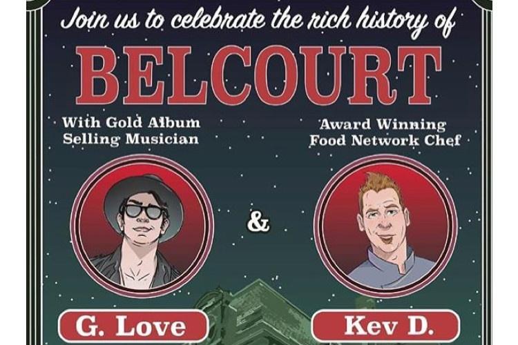 G Love Chef Kev Belcourt Newport RI