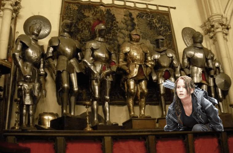 Jennifer Lawrence Newport RI Belcourt Castle