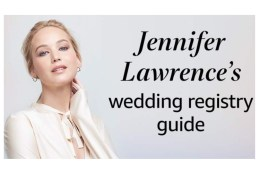 Jennifer Lawrence Wedding Registry Newport RI
