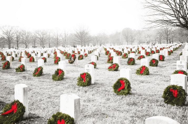 Wreaths Across America Newport RI