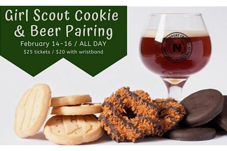 Newport Craft Girl Scout Cookie Pairing
