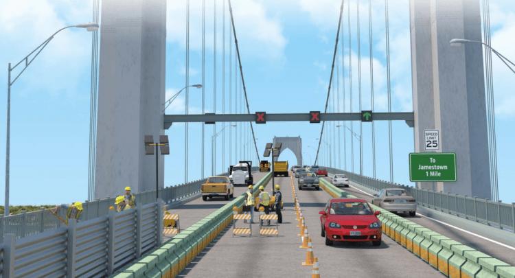 Newport Bridge Traffic
