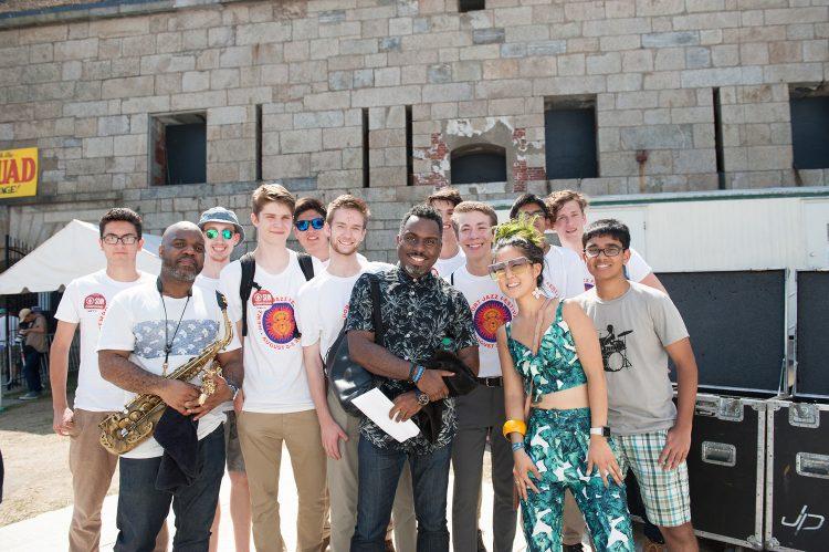 Newport Jazz Festival Assembly