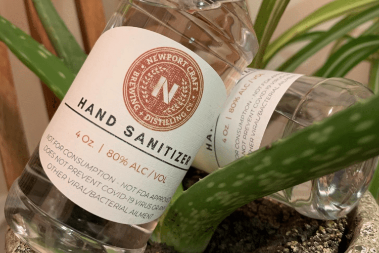 Newport Craft Hand sanitizer