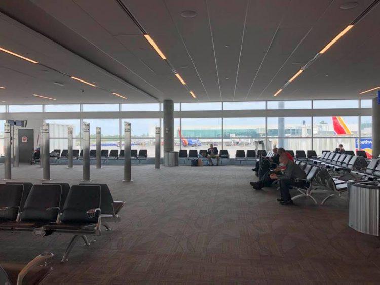 DAW Empty Airport