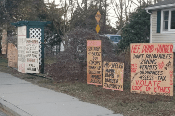 Portsmouth Political Sign Ban ACLU