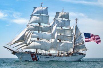Barque Eagle Tall Ship Newport RI
