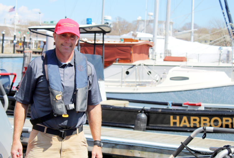 Harbormaster Stephen Land