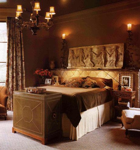 Old World Bedroom Design
