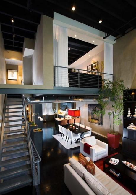 Loft Interior Design – Orange County CA Newport Coast Interior Design