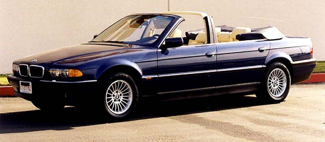 BMW 740IL Convertible 86 Newport Engineering