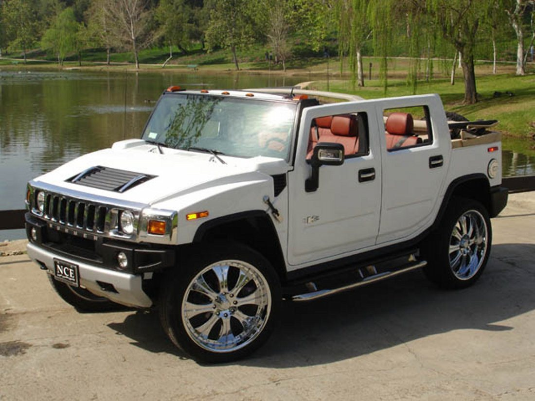 Hummer h2 convertible h2 wh7 1100 vanachro Images