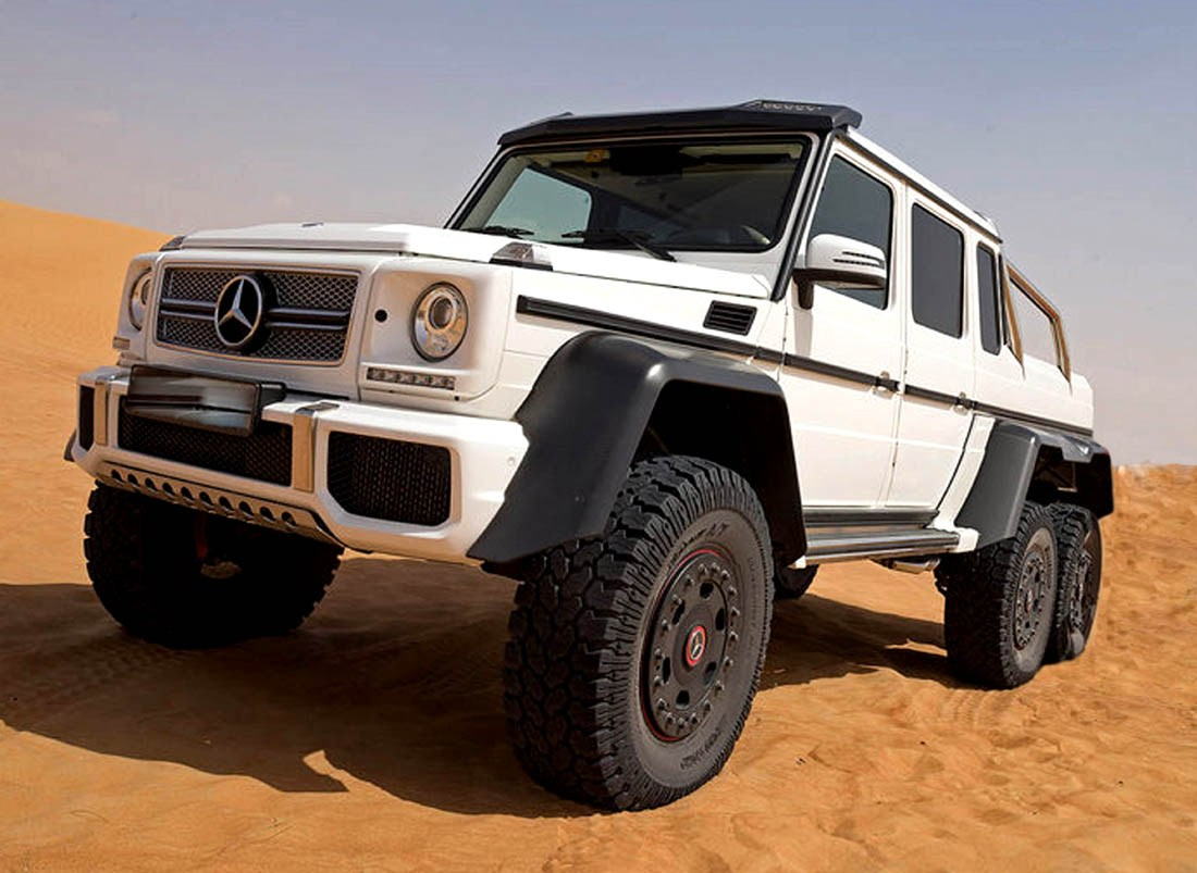 Mercedes g63 amg 6x6 for Mercedes benz g 63