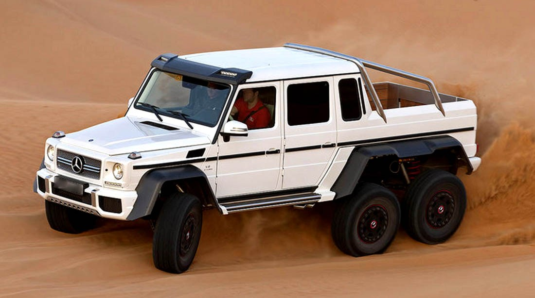 Mercedes g class 6x6 amg the image kid for Mercedes benz amg 6x6 price