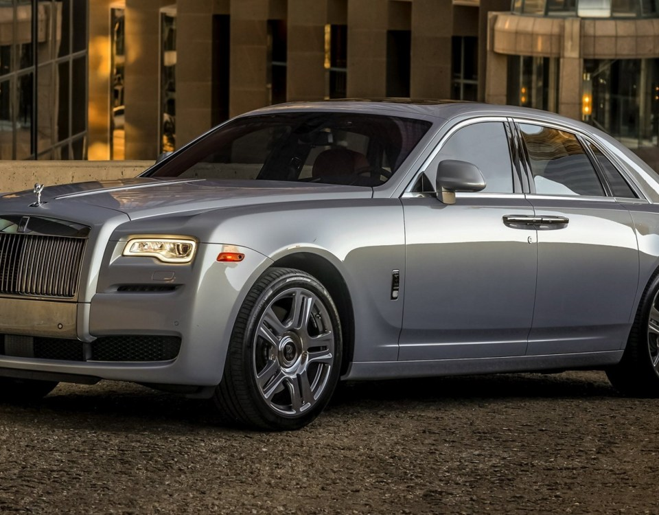 Armored Rolls Royce Ghost