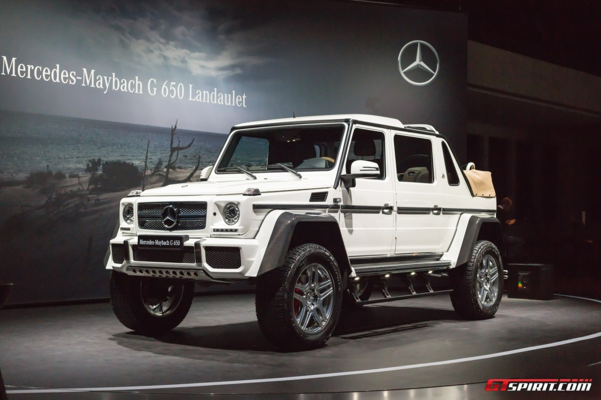 Mercedes maybach g650 landaulet nce for Mercedes benz 650