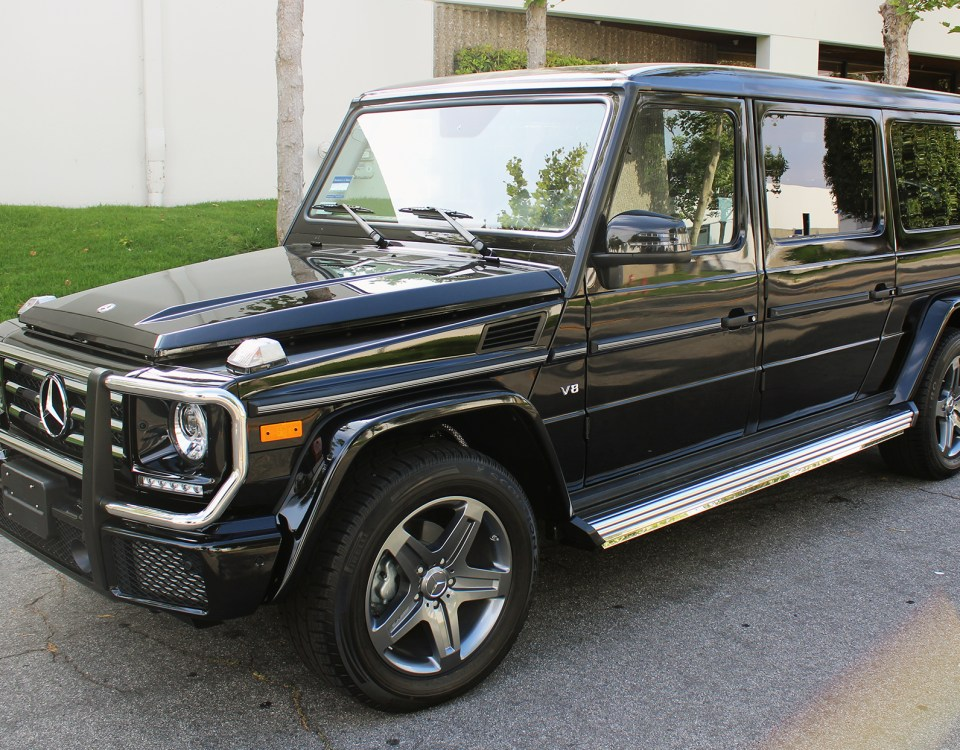 Mercedes Benz G55 Convertible – NCE