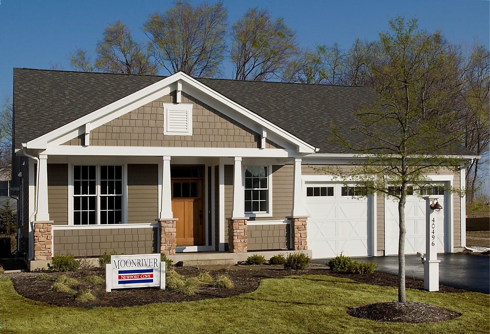 House design near river - Home Design Styles