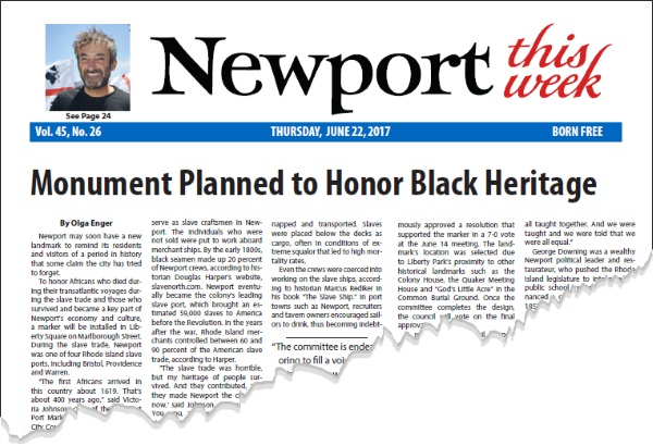 City Council Approves Newport Middle Passage Port Marker Monument