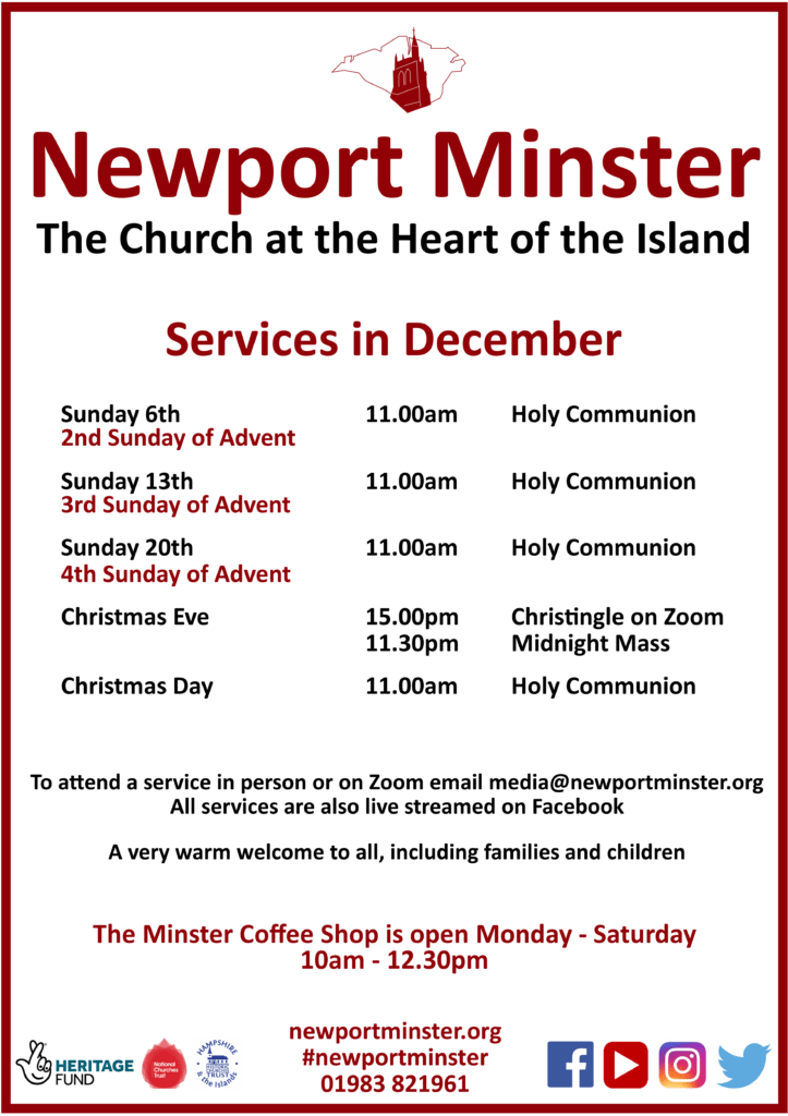 Services in December