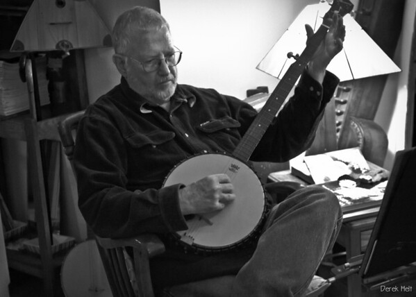 banjo player - Gene