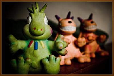 Tuckers dinosaur toys revolt