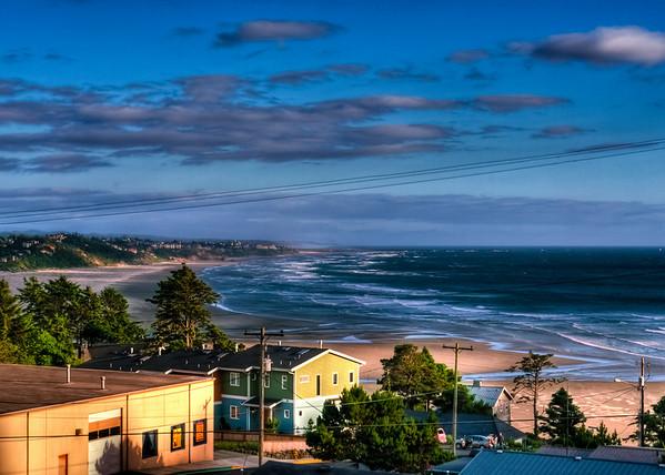 Agate Beach, Newport, OR, USA — HDR