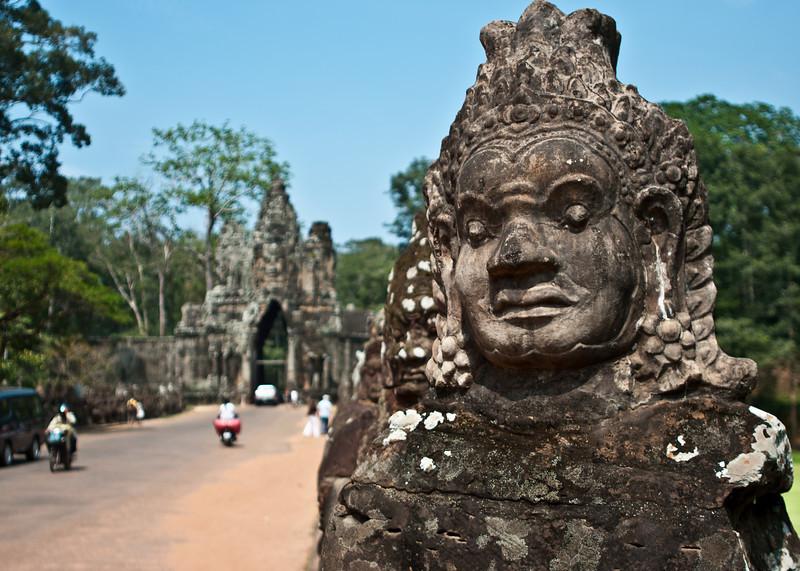 Gate to Angkor