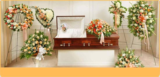 Funeral Package Peach