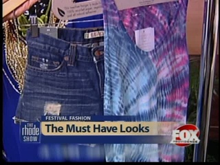 Our Picks for Jazz and Folk Fest Fashions on The Rhode Show!
