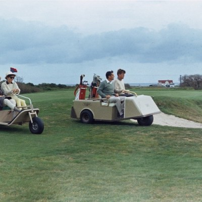 Tuesday Throwback: JFK and Jackie Hit the Links in Newport