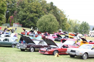 Auto Show at St. Faustina's Grove September 2013