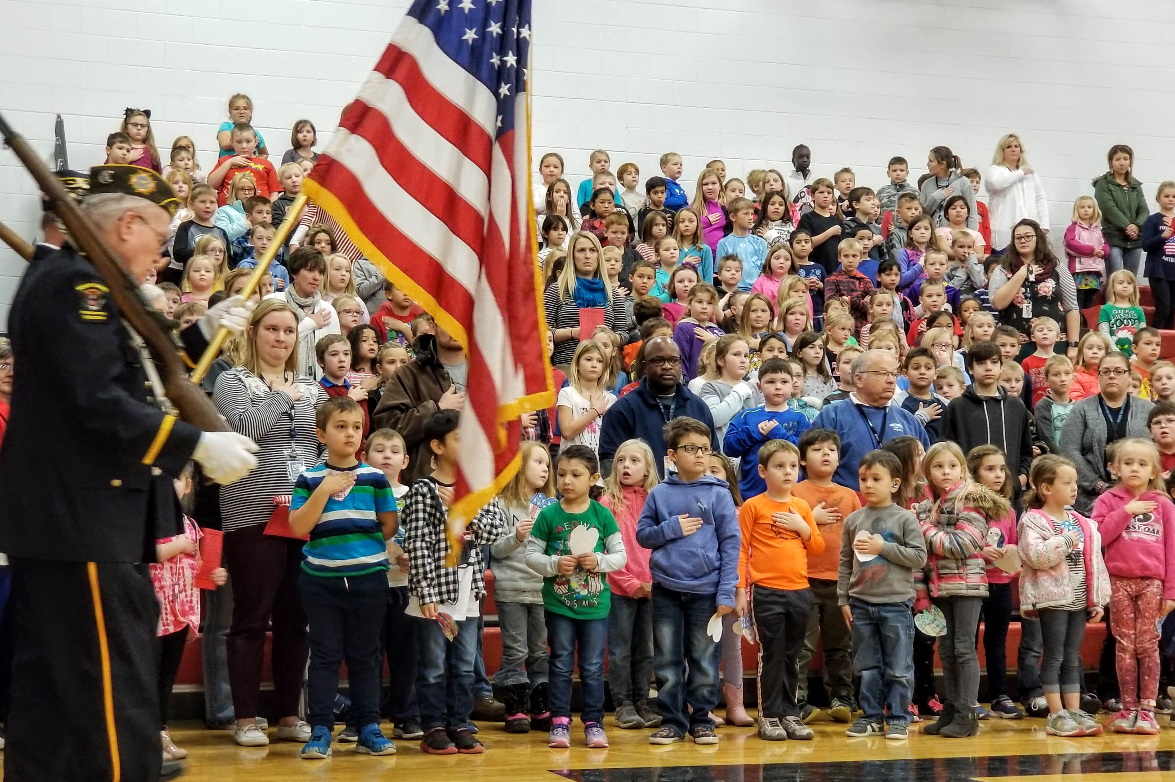 Veterans Day Programs Honor Vets