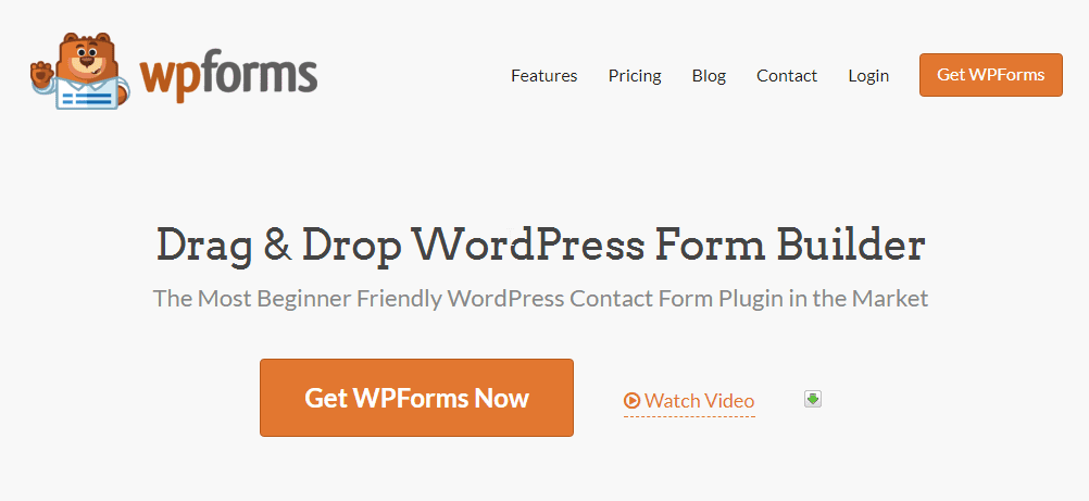 WP Forms, another great WordPress contact form plugin.
