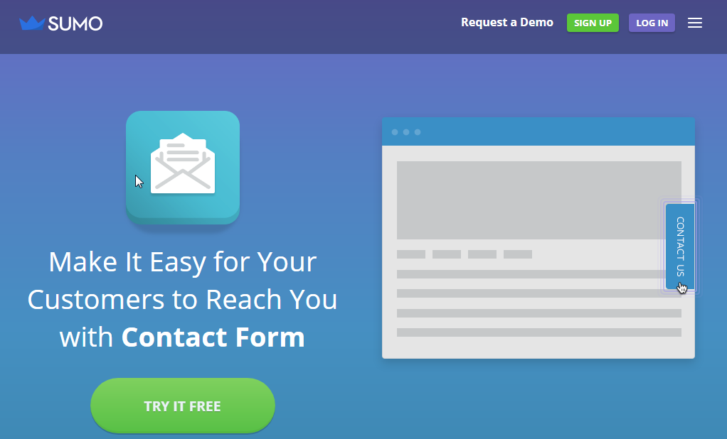 Sumo Forms, another great WordPress contact form plugin.